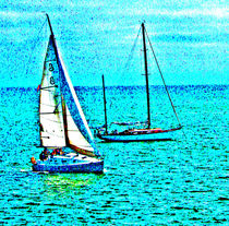 Sailing-in-blue-water