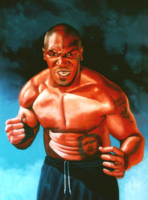 Mike Tyson painting von Paul Meijering