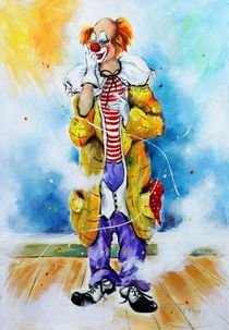 Clown Jerome by Barbara Tolnay