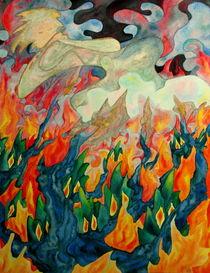 Aus Flammen geboren by Ulrike Brück