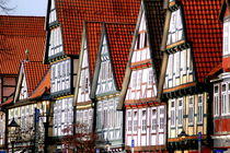 Fachwerkhäuser -Typical german Framework Buildings  Northern Germany 1 by Eddie Scott