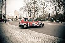 London cab von Franziska Molina
