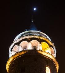 Galata Tower by Evren Kalinbacak