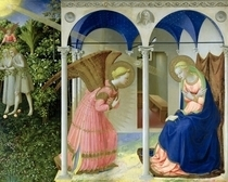 Verkündigung by Fra Angelico