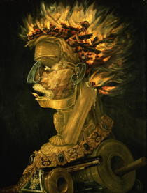Fire by Giuseppe Arcimboldo