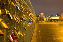 Liebesschlösser an den Landungsbrücken von Dennis Stracke