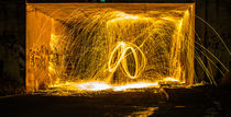 Stahlwolle Lightpainting die 8 von Dennis Stracke