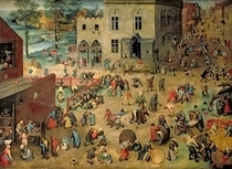 Children`s Games by Pieter Brueghel the Elder