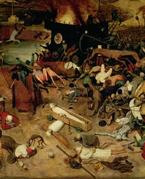 Triumph of Death, detail of the central section by Pieter Brueghel the Elder