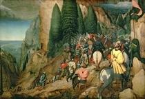 Die Bekehrung des Hl. Paulus von Pieter Brueghel the Elder