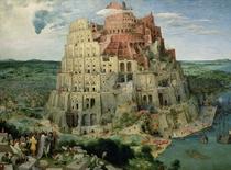 Der Turmbau zu Babel von Pieter Brueghel the Elder