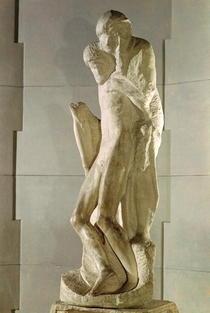 Rondanini Pieta by Buonarroti Michelangelo