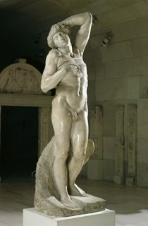 The Dying Slave by Buonarroti Michelangelo