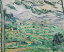 Montagne Sainte-Victoire von Paul Cezanne