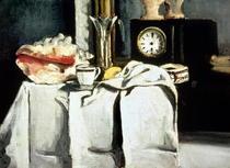 Die schwarze Marmoruhr von Paul Cezanne