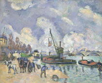 Quai de Bercy by Paul Cezanne