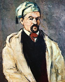 Portrait of a Man in a Blue Cap, or Uncle Dominique by Paul Cezanne