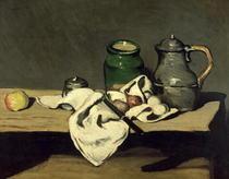 Stillleben mit Kessel von Paul Cezanne