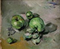 Grüne Äpfel von Paul Cezanne