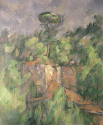 Bibemus Quarry by Paul Cezanne