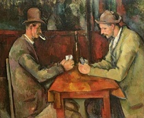 Die Kartenspieler von Paul Cezanne