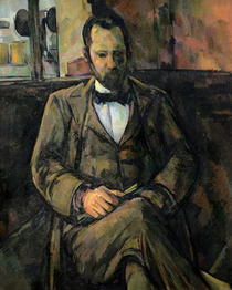 Portrait of Ambroise Vollard by Paul Cezanne