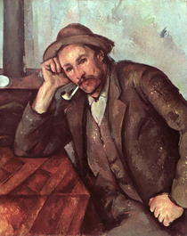 The Smoker by Paul Cezanne