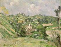 Auvers-sur-Oise von Paul Cezanne
