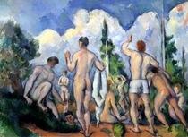 Die Badenden von Paul Cezanne