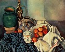Stillleben mit Äpfeln  von Paul Cezanne
