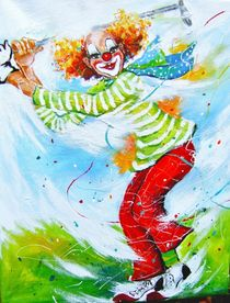 Clown Mr.Green von Barbara Tolnay