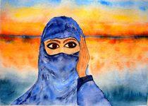 Junge Beduinenfrau  von Ulrike Kröll