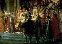 Die Segnung Napoleons und Krönung von Kaiserin Josephine von Jacques Louis David