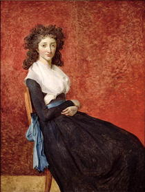 Portrait von Madame Charles-Louis Trudaine von Jacques Louis David