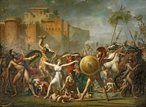 The Sabine Women by Jacques Louis David