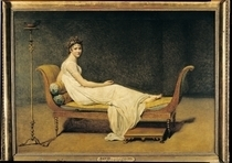 Madame Recamier by Jacques Louis David