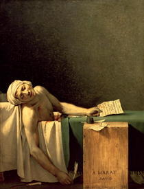 The Death of Marat by Jacques Louis David