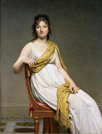 Portrait of Madame Raymond de Verninac by Jacques Louis David