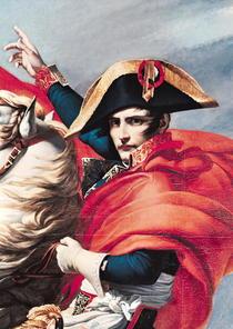 Napoleon überquert die Alpen von Jacques Louis David