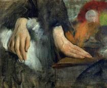Handstudie von Edgar Degas
