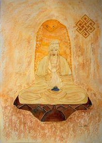Meditierender Buddha von Ulrike Kröll