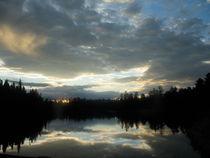 Lake Sunset (2) by Sabine Cox