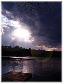 Lake Sunset by Sabine Cox