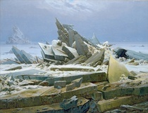 The Polar Sea by Caspar David Friedrich