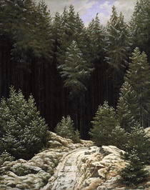 Early Snow by Caspar David Friedrich
