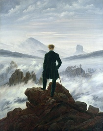 The Wanderer above the Sea of Fog by Caspar David Friedrich