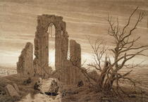 Winter by Caspar David Friedrich