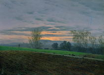 Ploughed Field by Caspar David Friedrich