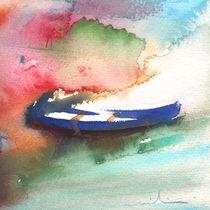 A Boat in Lanzarote by Miki de Goodaboom