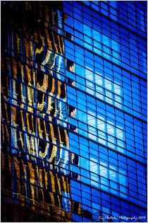 Office in brown & blue von Kayphoto4u Photography Amersfoort